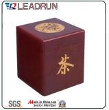 Rectángulo de madera del recuerdo de la caja del regalo del té con la pieza inserta de la espuma de la ampolla de EVA (YLT32)