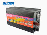 CC 12V di prezzi di fabbrica di Suoer 1500W all'invertitore di potere di CA 24V (HAD-1500A)