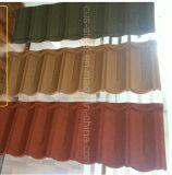 Colorer la tuile de toit enduite par puces en pierre en métal (la tuile classique)