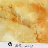 Золото перлы ширины Yingcai 1m исчерчивает мраморный пленку Inkjet