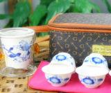 Чашка чая боросиликатного стекла керамического фильтра типа Китая