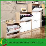 販売のための木または靴の棚の靴のキャビネットの/Shoeホーム木のラックのMordenデザイン
