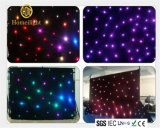 SMD5050 RGB / White LED Star Curtain para palco de pano de tela