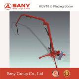 Sany Hgy18 18mの移動式具体的な置くブーム