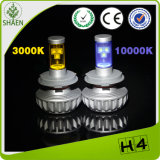 CREE 30W 3000lm Auto LED Car Headlight di Fanless
