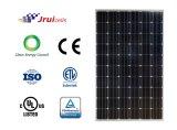 Comitato solare del silicone monocristallino nero resistente del blocco per grafici 270W di Pid