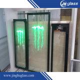 Vidro isolado construção Tempered do indicador/parede do edifício/cortina
