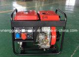 diesel van het Lassen van 3 kVA Draagbare Generator