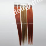 Итальянское выдвижение Nhk-003 волос Remy конца девственницы u клея