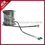 7.0mm ODC Square Metal Tipo Fibra Óptica Outdoor Armored Cable Assembly