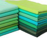 Tela tejida 100% de tela cruzada del algodón de la venta al por mayor para la ropa