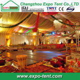 De Indische Zaal van de Tent van het Huwelijk met Luxe binnen Decoratie