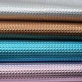 Il cristallo metallico gradice il cuoio di cuoio della borsa del Faux di modo dell'unità di elaborazione