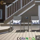 Decking extérieur imperméable à l'eau WPC de terrasse