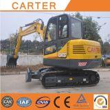 Excavador hidráulico de múltiples funciones de la retroexcavadora de CT60-8biii (Yanmar engine&6t)