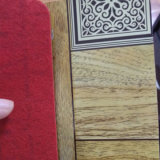非編まれる屋内PVC Flooirngロールスロイス床の敷物を支持する