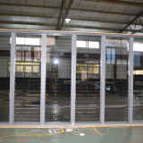 Obturateur en verre en aluminium Windows Kz035 de commande automatique