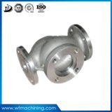 Carcaça da precisão do aço inoxidável do OEM para a carcaça de válvula moldada
