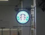 Segni della parte anteriore della memoria della farmacia LED della memoria del caffè