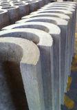 열 절연제 바위 모직 관 덮개, 무기물 모직 관