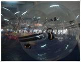 شفّافة [بفك/تبو] إنسانيّة قداد كرة مع ليّنة يحاك شريط مقبض