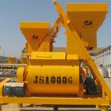 (JS1000) de Dubbele Horizontale Concrete Mixer van de Kracht van de As