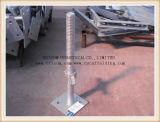 熱いすくいの電流を通された足場旋回装置の/Solid/Hollw Adjuastableねじジャック