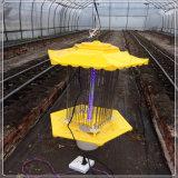 태양 유해물 살인자 냉담한 UV 버그 Zapper 램프 비행거리 함정