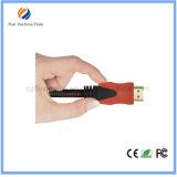 HDMI2.0V 4k*2k金によってめっきされる平らな2.0version HDMIのケーブル