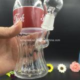 Tubulação de água de fumo de vidro do cachimbo de água do equipamento do frasco da cola de Bontek