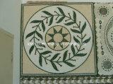 Alte mattonelle artistiche del reticolo di mosaico del Brown per la decorazione
