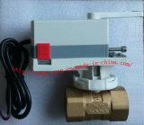 De elektrische Kogelklep van het Messing Met Elektrische Actuator (BS-878 DN32)