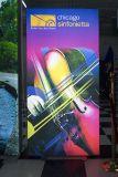バックライトを当てられる屋内屋外の広告およびSidelit LEDのライトボックス