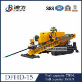 Dfhd-120 Horizontal Directional Drilling Machine per Pipe Laying