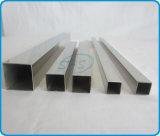 Pipes carrées soudées d'acier inoxydable pour la balustrade