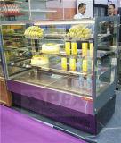 2016 세륨, Saso를 가진 신식 케이크 전시 진열장 냉각기