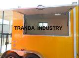 Nieuwe 7X20 7 X 20 Ingesloten BBQ van het Voedsel van de Concessie Aanhangwagen