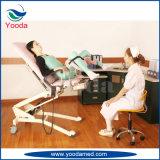 Vector hidráulico eléctrico del examen del Gynecology