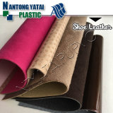 Utilisation neuve de cuir artificiel de PVC de configuration pour la fabrication de chaussures