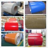 La bobina d'acciaio galvanizzata preverniciata/colore ha ricoperto la bobina d'acciaio 0.35mm