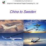 Scheepvaartmaatschappij van de Expediteur van de Vracht van de lucht de Hoogste van het Vasteland van China aan Zweden