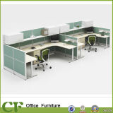 25mm Table Top Bureau Call Center Cubicles Workstation
