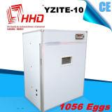 1000 eieren 98% Uitbroedende Incubator van de Kip van het Tarief Automatische Kleine