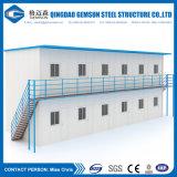 Edificio prefabricado modular móvil galvanizado