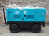 212-1130cfm 휴대용 디젤 엔진 - 몬 나사 공기 압축기 세륨