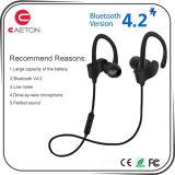 BluetoothのイヤホーンV4.2 Earhook Bluetoothのヘッドセット