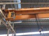 De workshop Gebruikte LuchtKraan van de Balk van de Kraan van de Brug Dubbele met Elektrisch Hijstoestel