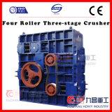 Дробилка этапа ролика 3 Китая 4 используемая для камней сломанных с ISO