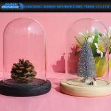 Dekking van het Glas van de Basis van drie Kleur de Houten voor de Decoratie van het Huis