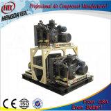 Compressor van de Lucht van de hoge druk de Enige Hoofd Vergeldende